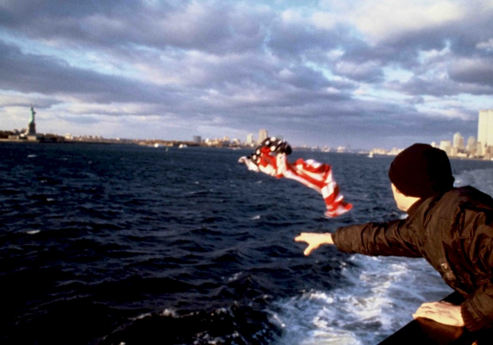 <p><em>Envoy: Stars and Stripes New York</em>, 2000, video still</p>